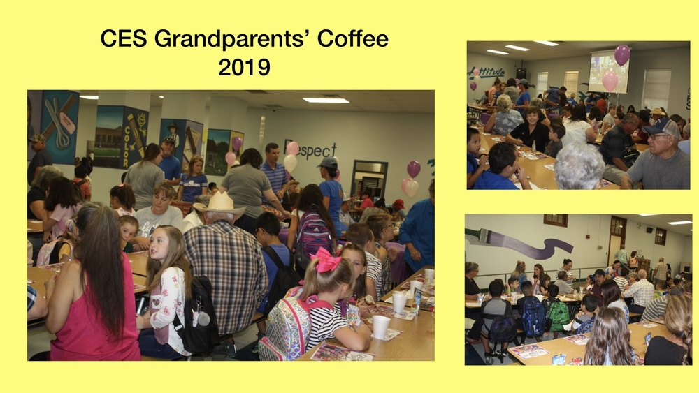 Grandparents' Coffee at Childress Elementary